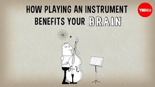 How playing an instrument benefits your brain - Anita Collins width=