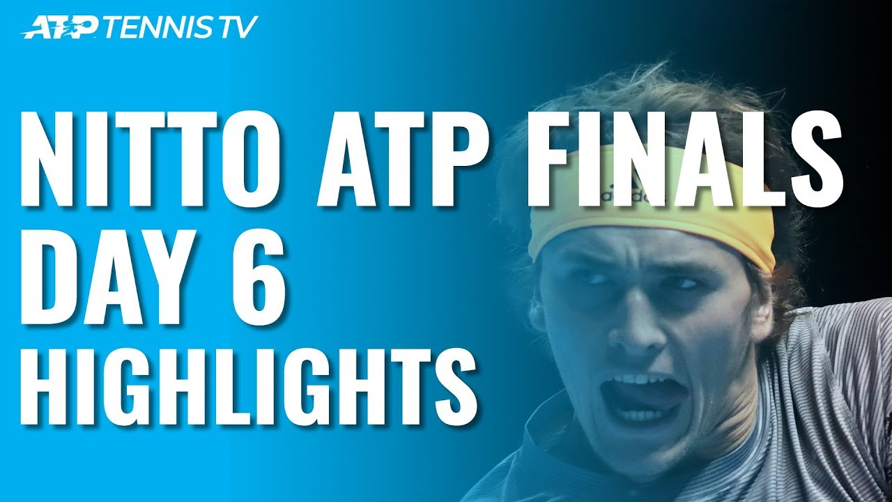 Nadal Wins Thriller as Zverev Defeats Medvedev to Advance | Nitto ATP Finals 2019 Day 6 Highlights