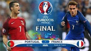 EDER GOAL Portugal vs France 1-0 Final Euro 2016