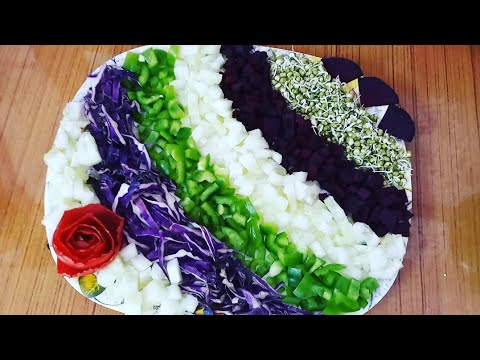 Download Thumbnail For Unique Salad Decoration Ideas By Neelam Ki