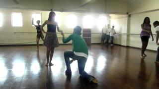 Coreografia Ela dança eu danço no IFBA