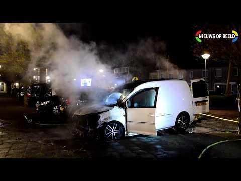 Voertuigbrand Merellaan Rijswijk photo