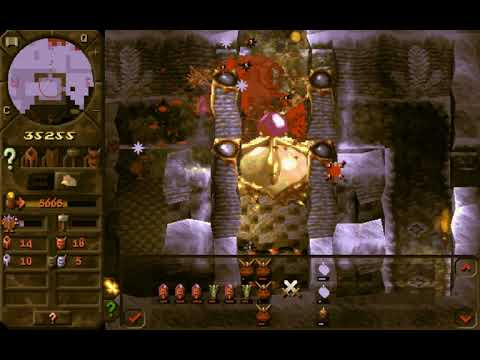 Dungeon Keeper (Level 10: Nevergrim) (Bullfrog Productions) (MS-DOS) [1997] [PC Longplay]