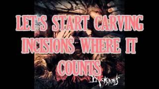 Oceano - Incisions (lyrics)