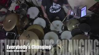 Everybody's Changing - Keane (Drum Cover)