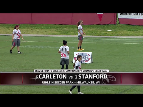 Video Thumbnail: 2015 College Championships, Women's Semifinal: Stanford vs. Carleton