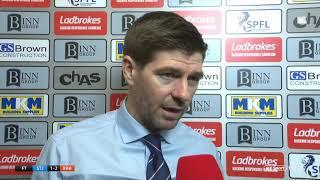 Brutal | Steven Gerrard's honest assessment following St. Johnstone vs Rangers