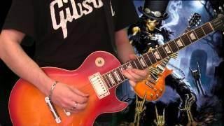Slash - Safari Inn (full guitar cover)