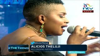 Meet Congolese artist Alicios Theluji #theTrend width=