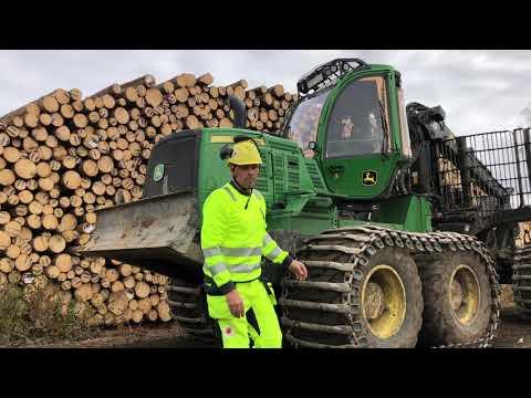 Ergonomi i skogsmaskiner