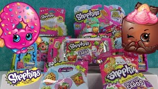 Shopkins Goodie Palooza Episode #4 Fashion Tags Plush Hangers & Collector Cards | PSToyReviews