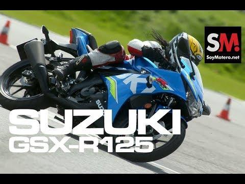 Suzuki GSX-R125 2017: Prueba Moto Supersport [FULL HD]