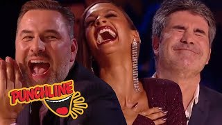 COMEDIAN MAKES FUN OF JUDGES Making EVERYONE LAUGH On Britain's Got Talent