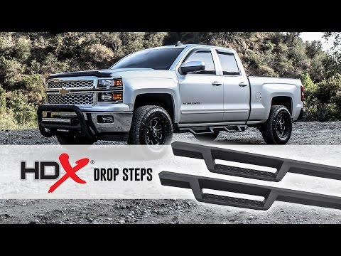 HDX Drop Steps Installation Video (Part No. 56-13725)