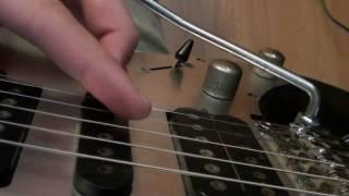 Joe Satriani Whammy Bar Trick 1