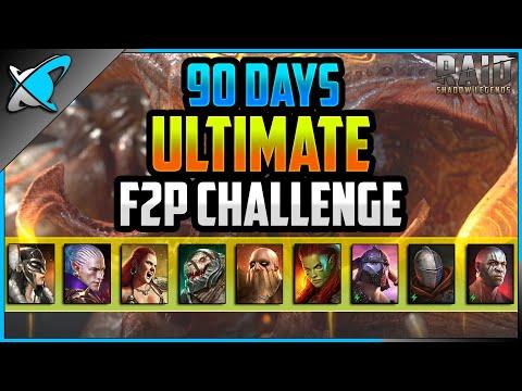 *ULTIMATE* F2P CHALLENGE !! | 90 Day Update | 2FangsInYaz Account Showcase #3 | RAID: Shadow Legends