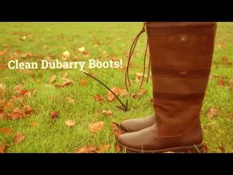 How to clean your Dubarry Galway Country Boots