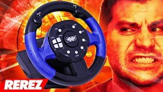 Worst Driving Plug & Play Ever! / 200 Toy Steering Wheel - Rerez
