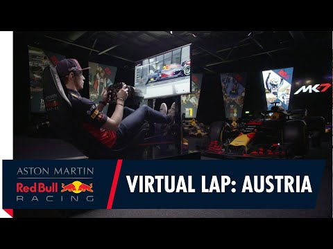 @Citrix Virtual Lap: Max Verstappen at the Austrian Grand Prix