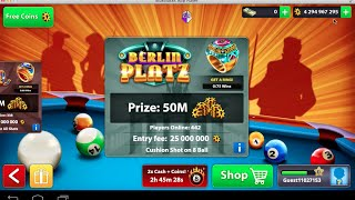 8 Ball Pool- Coins Hack 400M (No Root) (No JailBreak)
