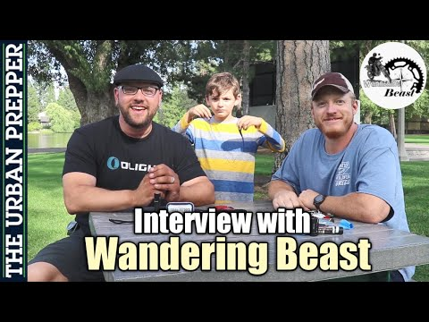 Wandering Beast Interview | YouTube, Prepping & EDC Gear Check!