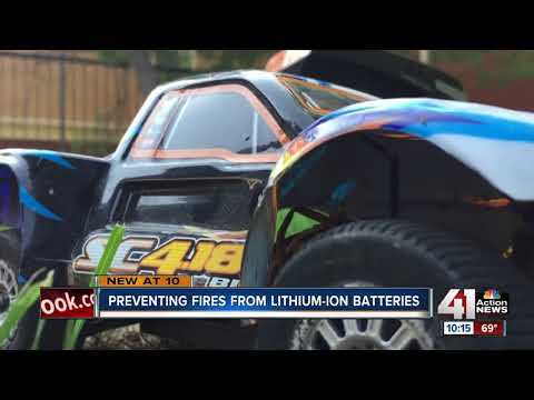Fire crews train to fight battery fires