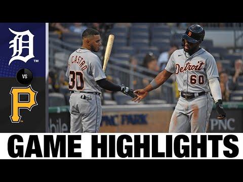 Tigers vs. Pirates Game Highlights (9/8/21) | MLB Highlights