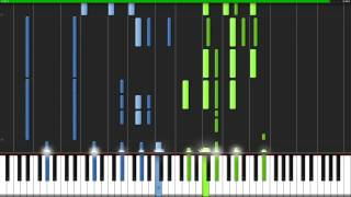 Strike Back - Fairy Tail (Opening 16) [Piano Tutorial] (Synthesia) // Danger Zone