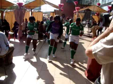 South Africa Cultural Lady Footballers