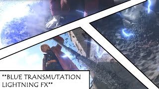 FMA Live Action with Anime Transmutation Effects