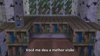 'Never Say Goodbye' - Minecraft Parody Song - Legendado PT-BR
