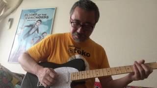 安いギターを買ってみた(5)Fender Squier
