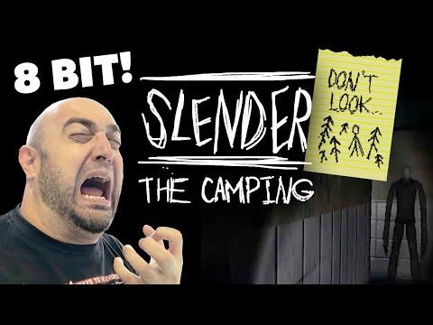 4x22 #093 Slender: The Camping | 8BIT SLENDER GAME! (1P) (MSX)
