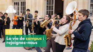 La vie de campus à l'École normale supérieure (Campus life)