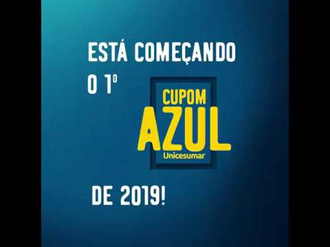 ELE ESTÁ DE VOLTA - primeiro Cupom Azul do ano! Unicesumar - Cidade Portal