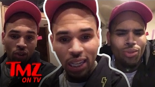 Chris Brown Wants Everyone To Know He's Not An Addict | TMZ TV