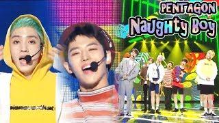 [HOT] PENTAGON - Naughty boy,  펜타곤 -  청개구리  Show Music core 20180922