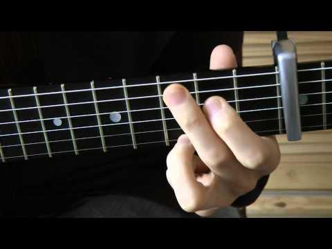 Comment jouer Aline de Christophe à la guitare