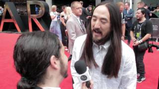 Steve Aoki on My Chemical Romance Remix; making food with Australians
