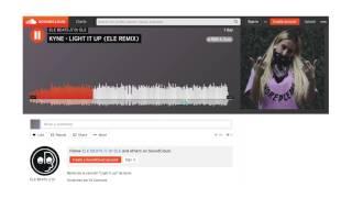 KYNE - LIGHT IT UP (ELE REMIX)