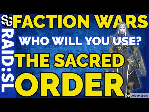 [RAID SHADOW LEGENDS] THE SACRED ORDER - FACTION WARS