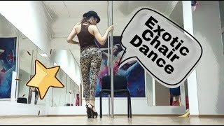 Exotic PoleDance + ChairDance/ Joe Cocker - You Can Leave Your Hat On.