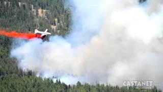 Smith Creek Fire evacuation order
