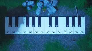 Meg & Diag/Intro Gotaga (Piano Fortnite)
