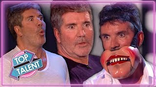 Simon Cowell UNDER PRESSURE on Stage on Britain's Got Talent 2019 | Top Talent