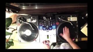 DJ Elwood - Practise Cuts!  Chirps on D&B