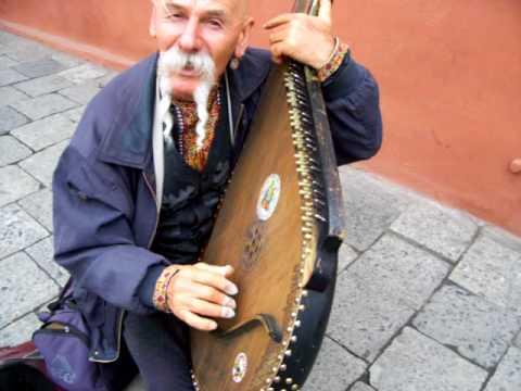 Kobzar Street Musician