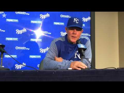 Royals manager Ned Yost talks offensive struggles