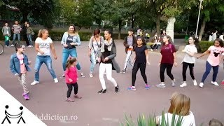 Meneito Dance in the Park with Dance Addiction
