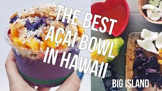 THE BEST ACAI BOWL IN HAWAII, MOON & ROCK FARM | The Acai Channel EP02